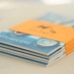 Серия разбита на две части, пока издана только первая — из девяти открыток. Ребята пошли на это, чтобы снизить цену — дизайнерская бумага и хорошая печать сделали бы более пухлый набор слишком дорогим.
