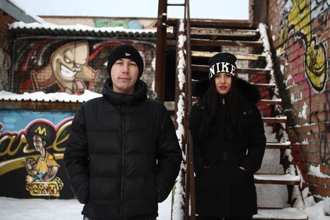 Иван «Ларри» Ларионов и Мария Печерица, организаторы фестиваля Street Vision 2