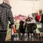 Первый Street Vision хоть и не был шибко массовым с точки зрения количества представленных работ, зато ставил рекорды по посещаемости. Причём посмотреть произведения уличного искусства приходила не только молодежь, но и взрослые люди. Фото из группы  фестиваля во «ВКонтакте».