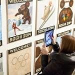 "работы Василия Слонова из серии ""Welcome to Sochi 2014"""