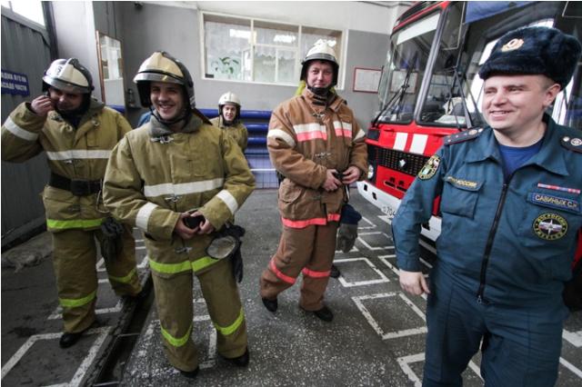 Лучшая работа в мире. Пожарный (7)