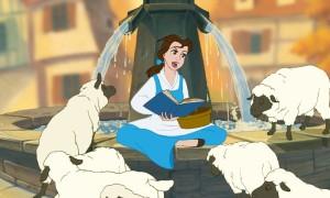 Кадр из мультфильма «Красавица и чудовище»