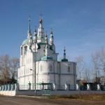 Успенская церковь, 1793-1819 гг. Расположена на самой высокой точке рельефа западной части города на Рабоче-крестьянской улице.