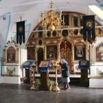 Внутреннее убранство Успенской церкви.