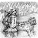 «Северный ветер, свирепый, страшный, всемогущий и проникающий всюду — вот что означало имя Войпеля, лучшего пса Мэбэта, признанного царя собак тайги и тундры» (из книги «Мэбэт»)