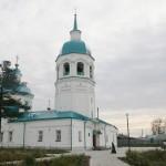 Спасский собор, 1730-1750 гг. — памятник провинциальной культовой архитектуры, типичное произведение сибирского зодчества середины 18 в., выполненное в нарядных формах «уральского барокко».