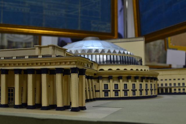 Экспозиция, посвящённая Театру Оперы и Балета