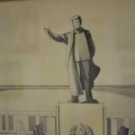 Сталин на музее-панораме Великой Отечественной войны