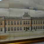 Проект городского училища в г. Акмолинске, архитектор — А. Д. Крячков