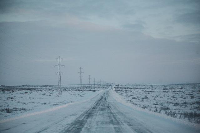 Дорога Дудинка-Алыкель и обратно
