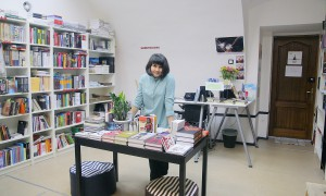 Ангелина Остащенко в своём магазине