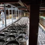 На заводе Efes разливают пиво не только в бутылки, но и в кеги.