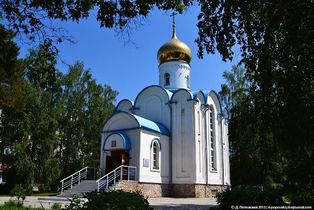 храм в честь иконы Пресвятой Богородицы Владимирской