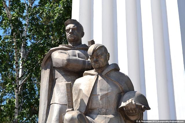 памятник воинам-искитимцам, погибшим в Великой Отечественной войне