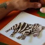 Эта зебра — первый мультперсонаж, созданный в киностудии. В съёмках она особо не участвовала, зато стала логотипом студии и окрасила её в чёрно-белую полоску.