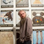 Василий Слонов. Фото от Сибирского центра современного искусства