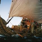9.В основе новых экспедиций Хейердала снова лежала теория: учёный пытался доказать, что древние мореплаватели могли совершать трансатлантические переходы на парусных судах, используя при этом Канарское течение.