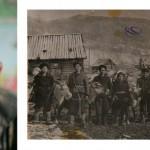 Валерий Холямоев и фотография из семейного архива