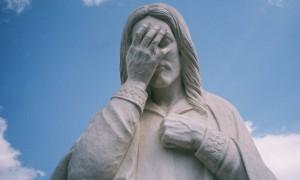 Jezus-facepalm