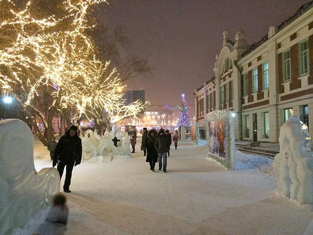 Фото, сделанное Святом Муруновым во время прогулки по Новосибирску
